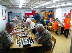 Otevřený okresní přebor v rapid šachu proběhl za účasti rekordních 55 šachistů všech věkových kategorií