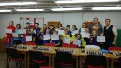 Klubový přebor dětí a mládeže v rapid šachu