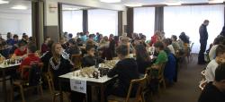 Po dvou letech jsme měli opět zastoupení na Mistrovství Moravy a Slezska mládeže v šachu