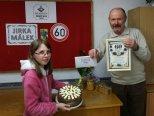 Oslava 60. narozenin Jirky Málka se vydařila