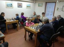O víkendu bylo odehráno kompletní 5. kolo okresního přeboru družstev v šachu