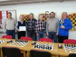 Družstvo ŠK Skorošice obhájilo titul přeborníka okresu Jeseník v šachu